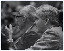 [Dr. Ralph Q. Marston at a Regional Medical Programs meeting]. [1968-1973].