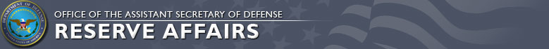 Reserve Affairs Header Image (Click to Return to the home page.)