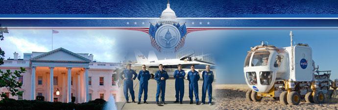 NASA participates in inaugural parade