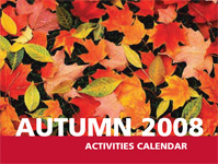 Link to Autumn 2008 Calendar of Events