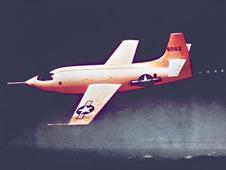 The Bell X-1 in flight.