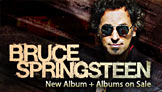 Bruce Springsteen New Album + Catalog Sale