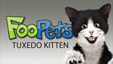 FooPets Tuxedo Kitten