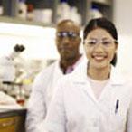 happy researchers