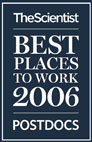 NIDDK Ranks High in Top Places for Postdocs to Work logo