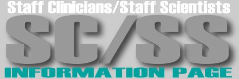 Staff Clinicians and Scientists Information Banner