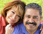 Latino couple