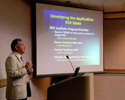 Dr. Mike Sesma (NIMH) –  Presenting at N.C. Regional 2007