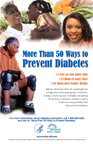 More Than 50 Ways to Prevent Diabetes Poster