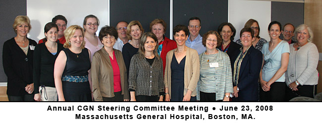 Photo of Annual CGN Steering Committee Meeting - June 23, 2008