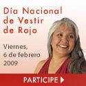 Día nacional de vestir de rojo 2009