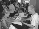 Health Screening at annual reception