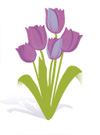 Icon of flowers