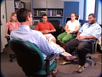 Group therapy with young people