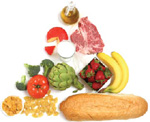 Photo of healthy foods