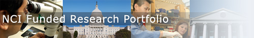 NCI Funded Research Portfolio