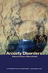 Publication cover for Anxiety Disorders booklet