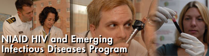 NIAID HIV and Emerging Infectious Diseases Program banner photo