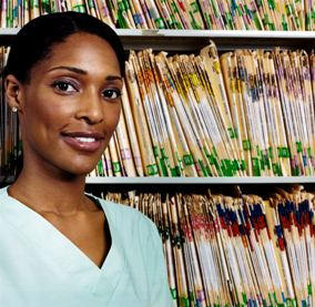 Healthcare worker and medical records