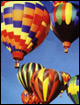 Hot air ballons.