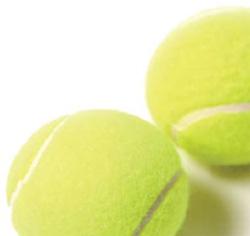 Photo of tennis balls