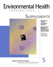 Journal cover of Environmental Health Perspectives Supplements, Volume 108, Number S5, October 2000