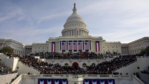 The inauguration of President Barack Obama at the U.S. Capitol on Tuesday, January 20, 2009