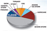 Disaster declaration maps