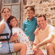 Una familia (joven) al aire libre