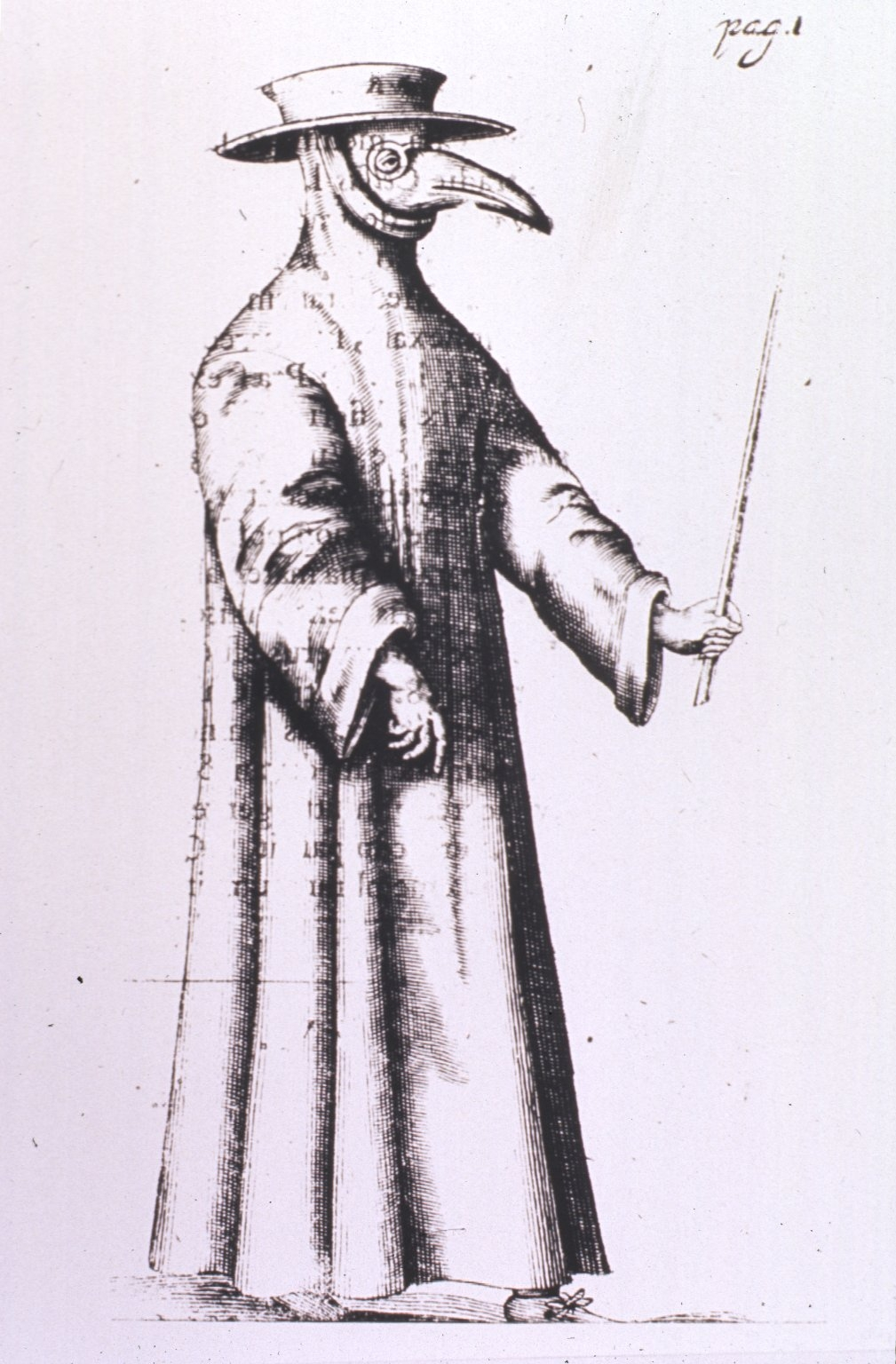 Image of Plague Doctor, ca. 1654