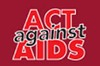 Act against AIDS campaign logo