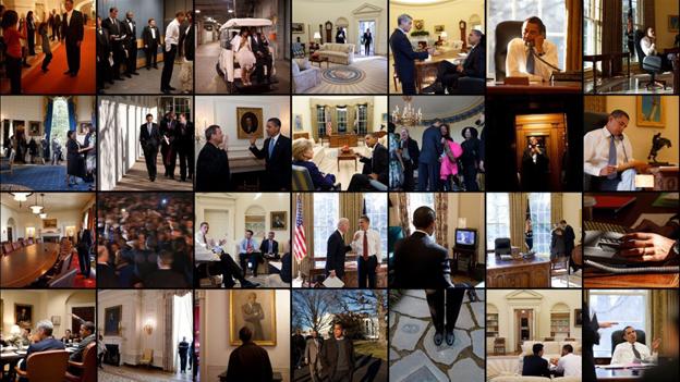White House Photo collage
