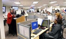 Secretary Napolitano visits U.S. Federal Emergency Management Agency (FEMA) headquarters and meets with FEMA employees.