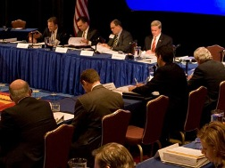 Quarterly meeting of the National Infrastructure Advisory Council held October 2008