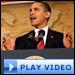 President Obama speaking at the Hispanic Chamber of Commerce