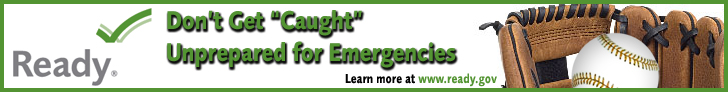 Don't Get Caught Unprepared for Emergencies - Baseball and Glove Banner Image