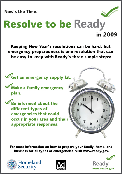Resolve To Be Ready Poster