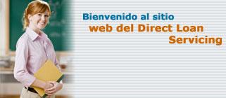 bienvenido al sitio web del Direct Loan Servicing