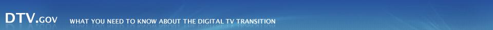 DTV.gov Header Image