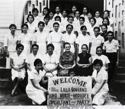 WHO Nurse-Midwife Trainees, Butuan