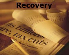 "Tax Cuts Sepia - ""Recovery"""