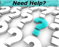 """Question Marks - """"Need Help?"""""""