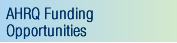 Go to AHRQ Funding Opportunities