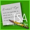 TSA's Email Tip
