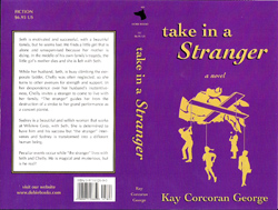 "Photo of Novel ""Take in a Stranger"" (2002)."
