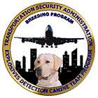 TSA Canine Puppy Program logo