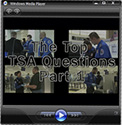 Watch The Top TSA Questions Web Cast