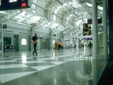 Photo of an airport terminal