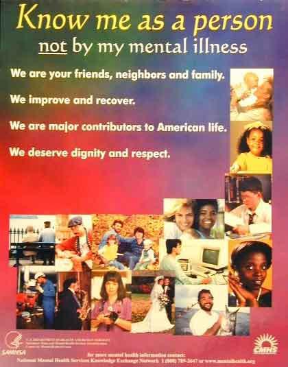 Anti-Stigma Poster