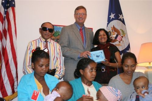April 9, 2009 : Grant of Medical Equipment